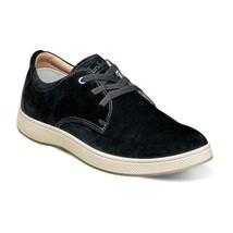 Florsheim Edge Sneaker 3 Eye Elastic Lace Oxford Black 14233-001 - €91,38 EUR