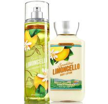 Bath & Body Works Sparkling Limoncello Body Lotion + Fine Fragrance Mist Duo Set - $27.39