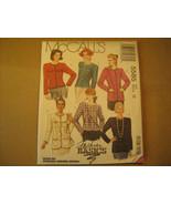 UNCUT Sewing Pattern 1991 McCall's SIZE: 10 JACKET 5585 [Z24] - $3.61
