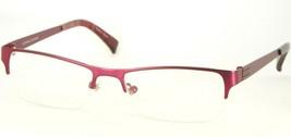 PRODESIGN DENMARK 1247 4021 MATTE RED /PINK EYEGLASSES FRAME 50-16-140mm... - $39.60