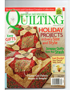 Dec 2009/American Patchwork & Quilting Magazine/Preowned - $3.99