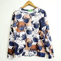 Autumn animal pug full print women men fashion sweatshirt 3d funny hoodies  - $29.90