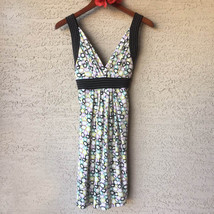 Womens BCBG Max Azria XS Geometric Print Dress Mini Stretch Sleeveless - $9.89