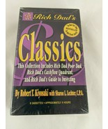 Rich Dad's Classics Audiobook Cassettes Sealed - $27.17