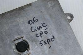 06-08 Honda Civic 1.8 M/T ECU PCM Engine Computer & Immobilizer 37820-RNA-A09 image 3