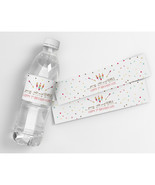Young Wild and Three Personalized Third Birthday Water Bottle Labels - $21.78