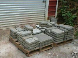 29 CONCRETE USA MOLDS MAKE 1000s OF CASTLE PAVERS, TILE, STONES MAKE FOR PENNIES image 6