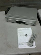 Zenith XBV322 DVD VHS Combo Player W/ Remote and Manual (dd) - $93.50
