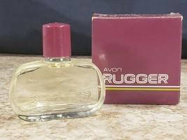 Avon Rugger Plus .5 OZ Mini Travel Size Eau de Cologne Glass Bottle Gift... - $14.53