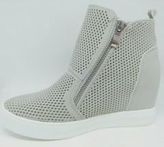 Women wedge sneakers Gray image 2