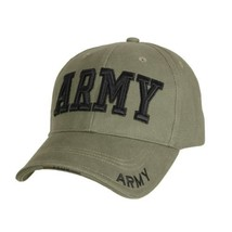 Olive Drab Green Black Military US Army USAR West Point Airsoft Baseball... - $11.87