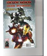 Marvel Iron Man Iron Manual Comic (Mark 3, Numb... - $49.99