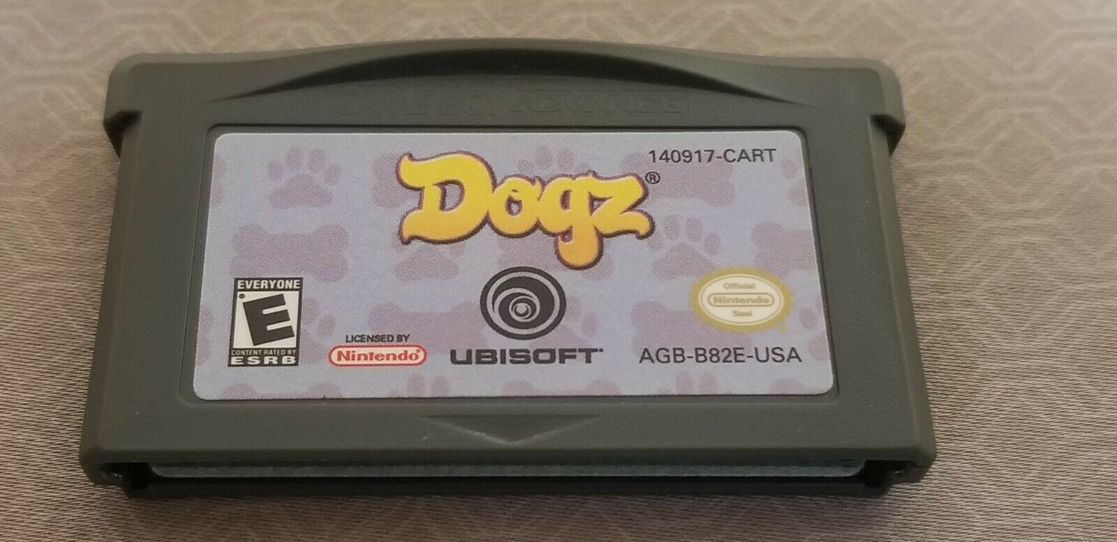 Dogz (Nintendo Game Boy Advance GBA, 2005) Video Game Cartridge