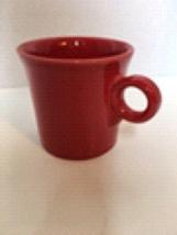 Fiestaware Scarlet Coffee Mug Cup ring handle Fiesta Homer Laughlin - $4.99
