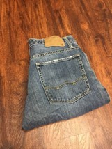 AMERICAN EAGLE Classic Boot Cut Dark Wash Blue Denim Jeans Men's Size 29... - $528,97 MXN