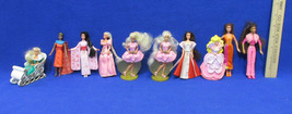 McDonalds Barbie Toy Cake Topper Christmas Asian Princess African Europe... - $9.89