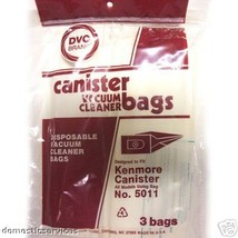 36 Designed To Fit Kenmore 5011 Vacuum Bags - $30.21