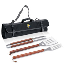 Golden State Warriors Picnic Time 3-pc BBQ Tote Set Brand new Fullbox - $24.99
