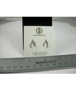 NEW Giani Bernini Sterling Silver Cubic Zirconia Horse Shoe Stud Earring... - $33.50