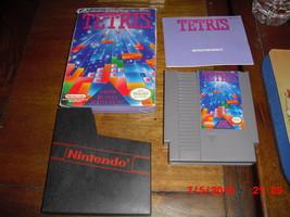 Nintendo NES Tetris (Nintendo NES, 1986) WITH BOX & INSTRUCTIONS - $14.84