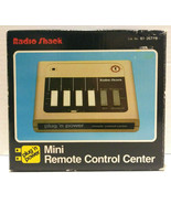 Radio Shack Mini Remote Control Center 61-2677B New Old Stock - $39.99