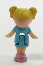 1990 Vintage Polly Pocket Doll Pretty Hair Playset - Tiny Tina Bluebird Toys - $5.00