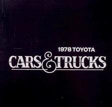 1978 Toyota Brochure Celica Corolla Corona Truck - $6.93