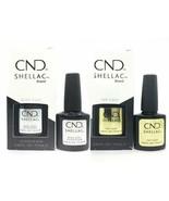 CND Shellac Top and Base Coat - Original, Xpress, and Duraforce Variatio... - $16.99