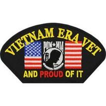 "United States Vietnam Era Veteran Hat Patch 5-1/4"" x 2-3-4"" - $8.90"