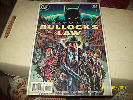 Batman: Bullock's Law #1 (Aug 1999, DC) - $5.00