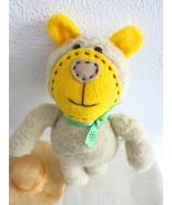 Handcrafted Teddy Bear Rag Doll Bino - stuffed decorative dolls - birthd... - $20.00