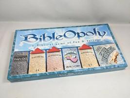 BibleOpoly Board Game A Biblical Game of Fun & Faith (ws3) - $22.99