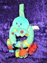 Bright Starts Baby Toy Under the Sea Ocean Octopus Fish Crab Turtle Ratt... - $19.79