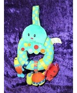 Bright Starts Baby Toy Under the Sea Ocean Octopus Fish Crab Turtle Ratt... - $19.79