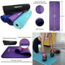 PROIRON Tapis de Yoga antidérapant, Mat,NBR Matériel, Fitness, Sport, Gy... - $42.29