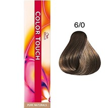 Wella Color Touch 6/0 (Dark Blonde/Natural) 2oz - $11.88