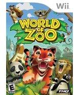 World Of Zoo - Nintendo Wii [Nintendo Wii] - $5.45