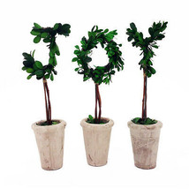 """NEW! 13"""" REAL PRESERVED BOXWOOD DECORATIVE MONOGRAM LETTERS WITH TERRA C... - $12.89"""