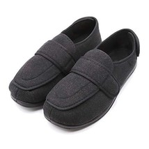 Men's Extra Extra Wide Width Adjustable Slippers for Edema, Diabetic and... - $64.05