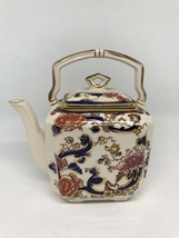 Mason's Ironstone Blue Mandalay Pattern Small Kettle - Superb Condition - $55.00