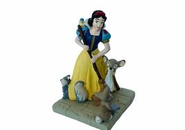 Walt Disney Store Snow White Cake Topper Figurine Seven Dwarfs 7 Classic broom - $24.14