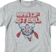 Superman T-shirt DC comics Man of Steel retro Batman cotton graphic tee SM1934 image 2