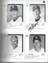 1999 Red Sox Spring Training Magazine Program signed Nomar Merloni hatte... - $46.51