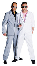 "80's Deluxe Miami Vice , ""Tubbs"" - Grey  Suit - $36.12"
