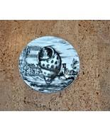 Fornasetti Le Oceanidi 7 Shell Plate Black White Transfer Porcelain Tiff... - $395.00