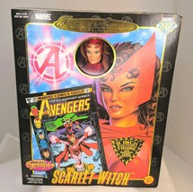 "Marvel Famous Cover Series 8"" Ultra Poseable 2000 The Scarlet Witch #484... - $34.60"
