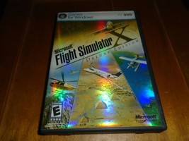 Microsoft Flight Simulator X DeLuxe Edition 2006 CIB - $24.99