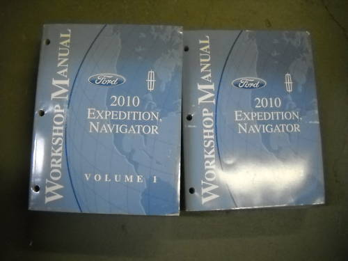 Primary image for 2010 FORD EXPEDITION & LINCOLN NAVIGATOR Repair Service Shop Manual Set OEM