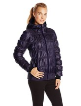 Columbia Chelsea Station Purple Puffer Jacket Inkling Opulent Medium M N... - $99.99