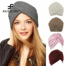Spring Winter Women Hat Head Wrap Caps For Women Twist Headwrap Hat Girl... - $3.91+